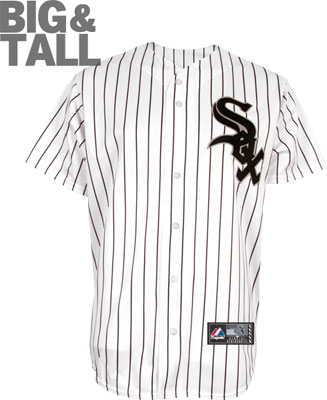 big and tall, chicago white sox jersey, white sox t-shirt, white sox jacket