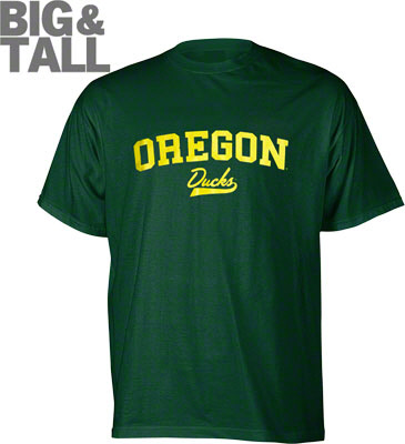 Big and Tall, Oregon Ducks T-Shirt, 3X Oregon Ducks Apparel, Plus Size Oregon Ducks Ap