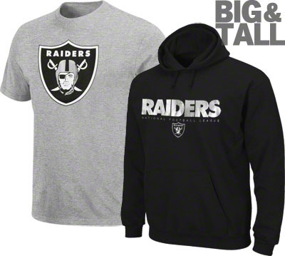 a09a4c77 Oakland Raiders Big Tall Jerseys, T-Shirts, Apparel, Reviews - Big ...