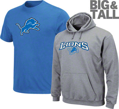 Big and Tall Detroit Lions 3c170acdd
