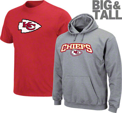 006d2c58 Kansas City Chiefs Big Tall, Plus Size, Tee, Shirts, Jerseys - Big ...