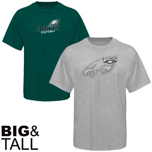 best website 64aa8 bd1b3 Philadelphia Eagles Hoodie, Tee Shirt 3X, 4X, 5X, 6X, XLT ...